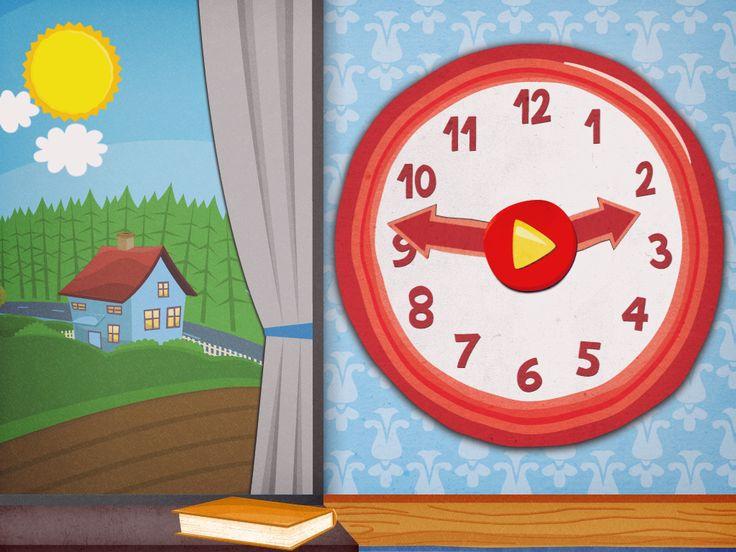 Klockspelet - 24 minispel om dygnets timmar | Pappas Appar