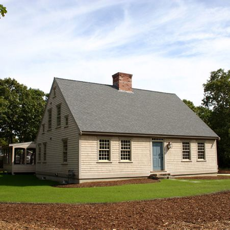 55 best center chimney capes images on pinterest saltbox New homes cape cod