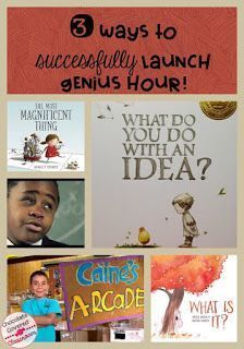 3 Way to Successfully Launch Genius Hour in your Upper Elementary or Middle School Classroom