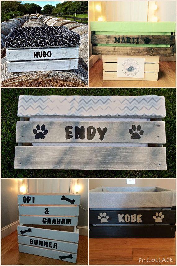 Dog Toy Box - Pet Storage - Personalized Pet Toy Box - Toy Box - Pet Storage…