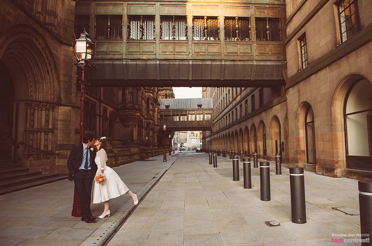 Manchester Town Hall, wedding, venue, couple