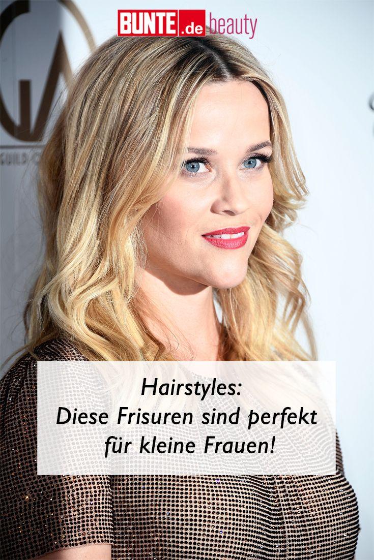 Frisuren Diese Stylings Sind Perfekt Fur Kleine Frauen Frisuren Haar Styling Seidiges Haar