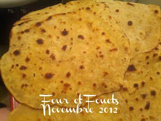 Four et Fouets pour Sara: Tortillas de maïs