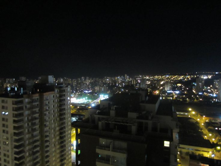 View from the 26th floor from the center of Vina del Mar