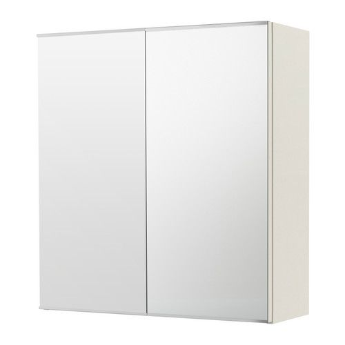 LILLÅNGEN Mirror cabinet with 2 doors - white - IKEA