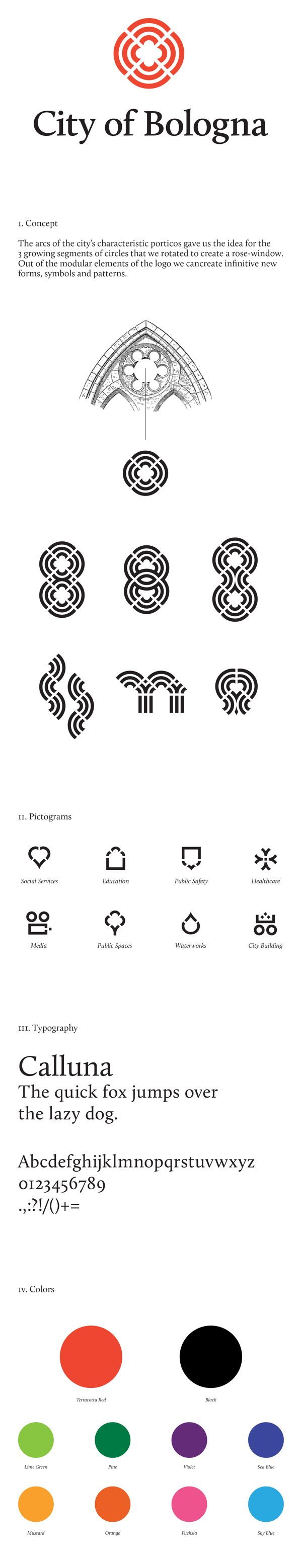 City of Bologna / Rebranding Proposal by Lili Köves, via Behance
