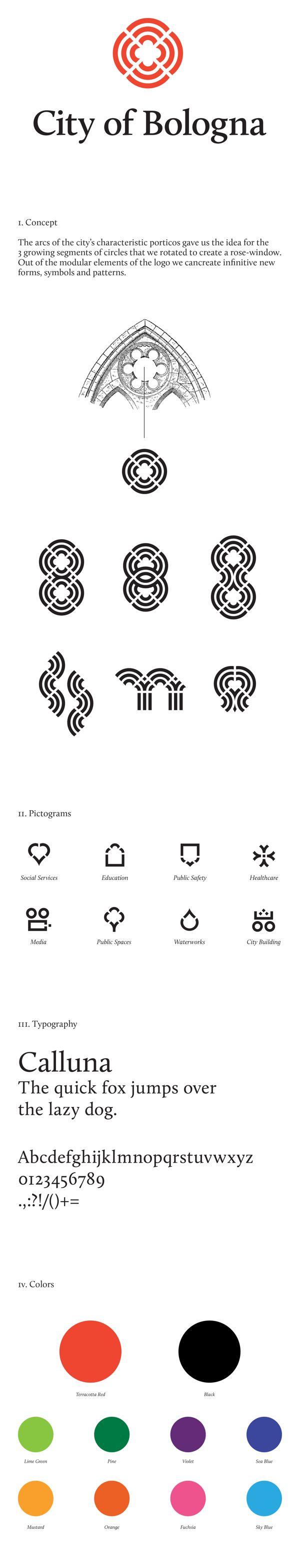 City of Bologna / Rebranding Proposal / Lili Köves