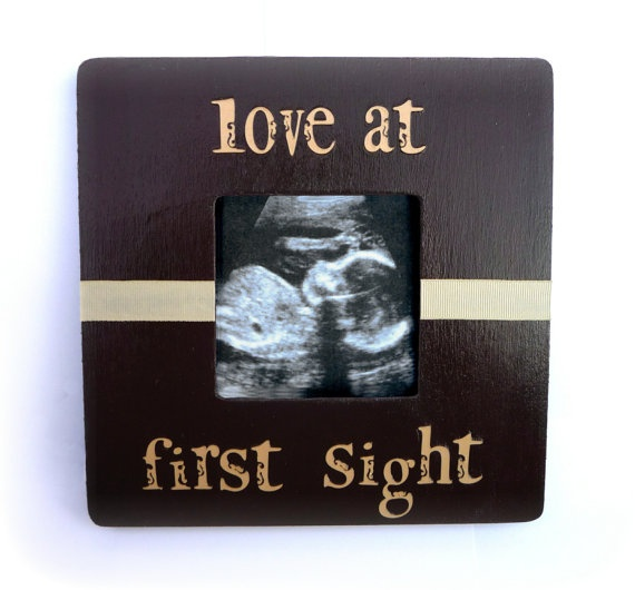 Love at First Sight Baby Ultrasound Picture by handmadebykrysten, $18.00