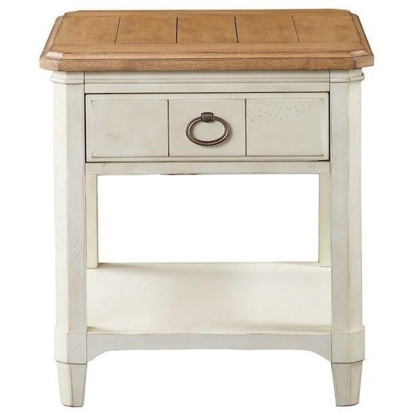 Millbrook Rectangular End Table By Panama Jack By Palmetto Home