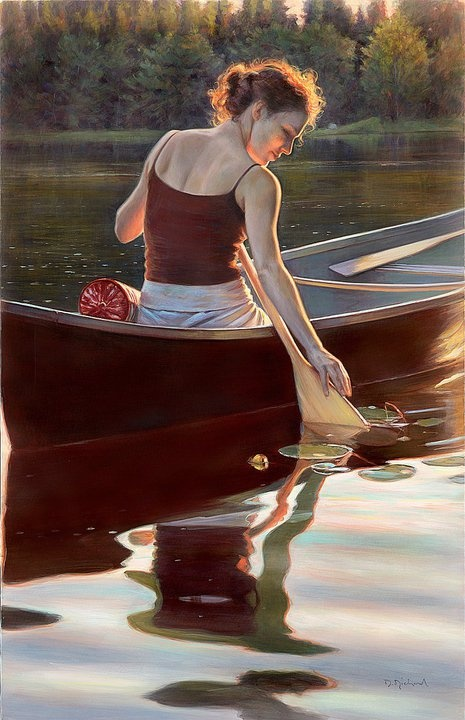 Underpaintings: On Painting Women * Danielle Richard * Portrait Society Competition finalist.