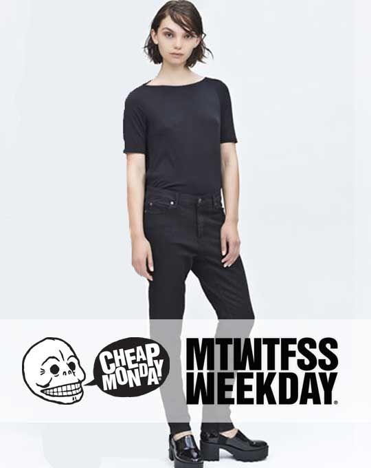49f83347569 Женские джинсы Cheap Monday+Monki - StockHouse - сток оптом - стоковая  одежда оптом