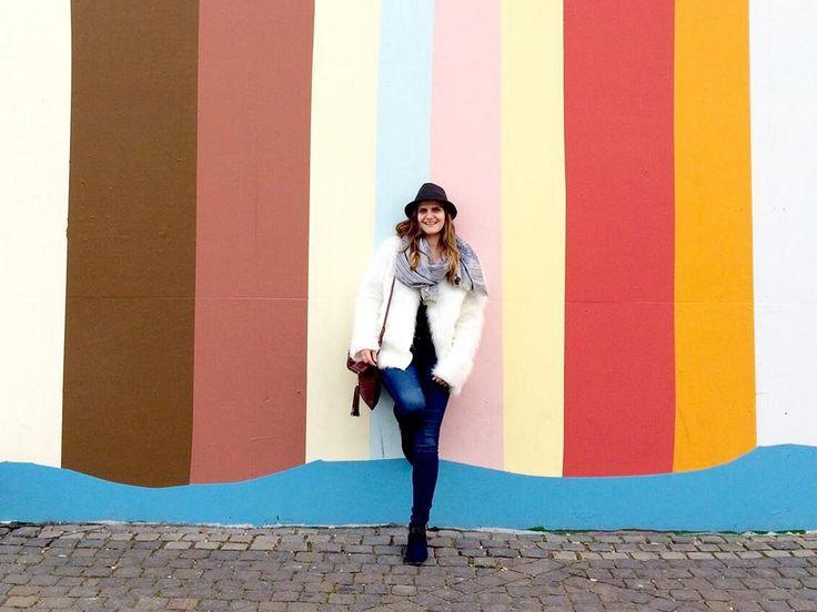 Styling DIY fur jacket in Copenhagen, Denmark - lilmissboho.com