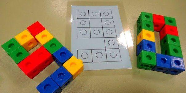 цифры и буквы из лего