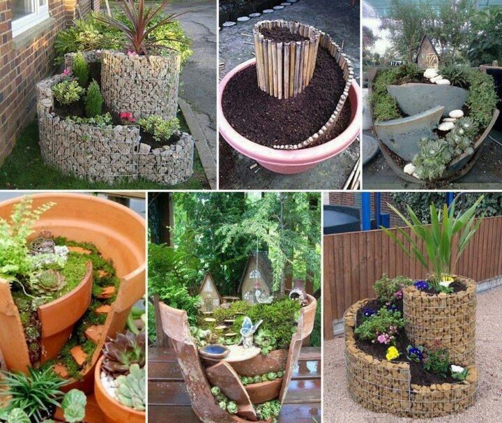 Miniature garden ideas gnome fairy garden pinterest - Ideas for miniature gardens ...