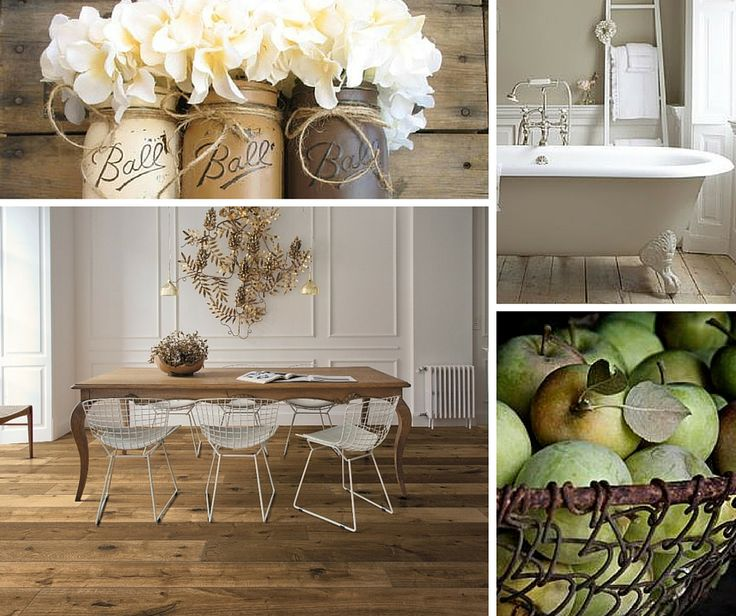 Country atmosphere with our Impression wood flooring. #floor #oak #country #wood