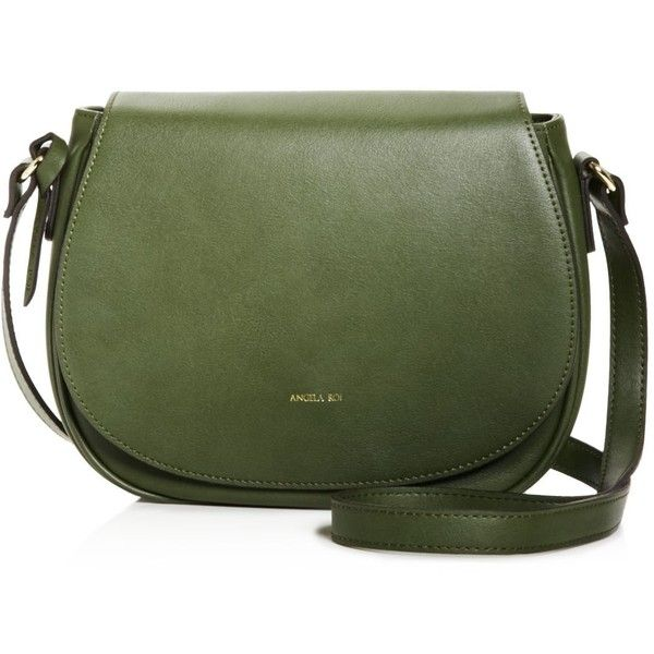Angela Roi Morning Crossbody 155 Liked On Polyvore Featuring Bags Handbags Shoulder Bolsas Purses Green Vegan Handba