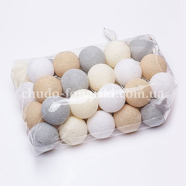 Cottonball lights «Glow» 35 pcs.