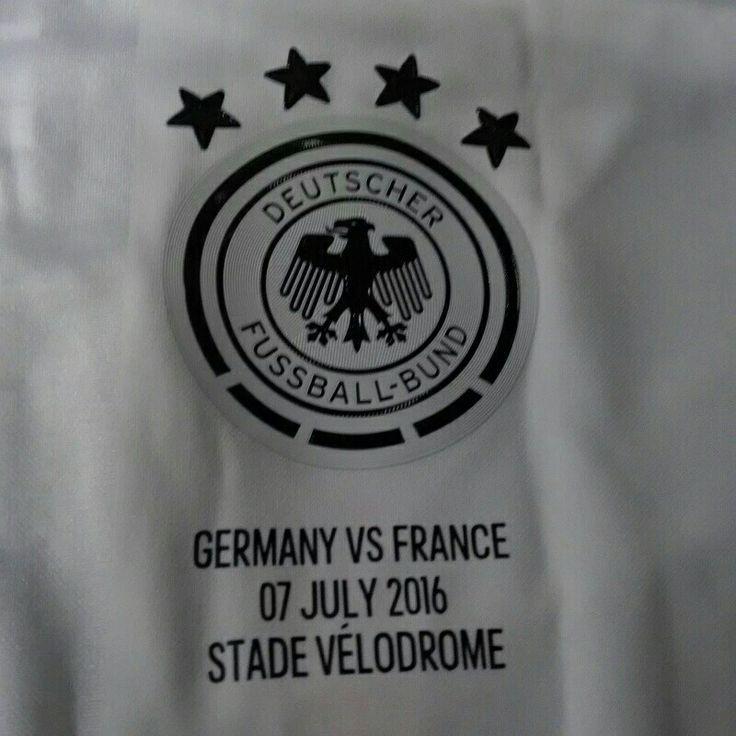 Germany jersey vs France 07/07/2016