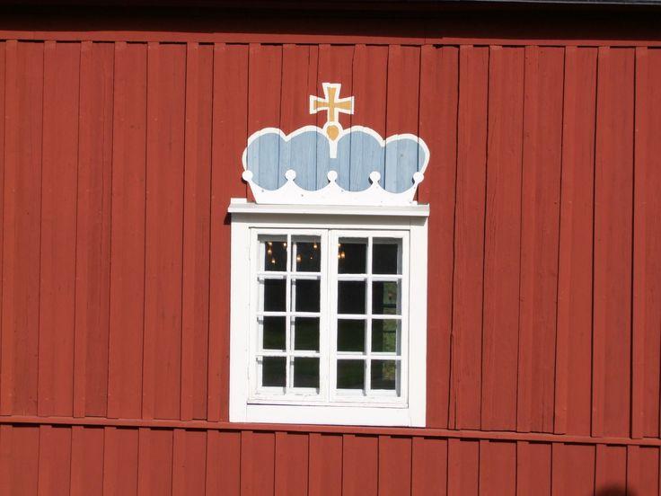 Church window at Kellokoski Finland