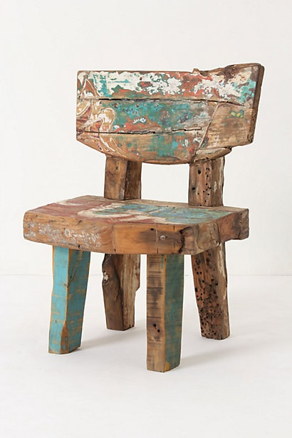 Reclaimed Boat Chair Anthropologie I Really Just Want To
