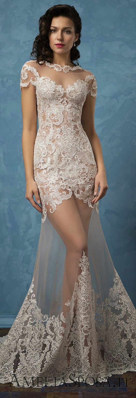 Alfred angelo dream maker wedding dress   best Wedding images on Pinterest  Homecoming dresses straps