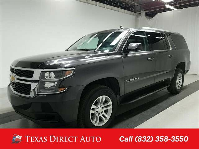 Ebay Advertisement 2018 Chevrolet Suburban Lt Texas Direct Auto