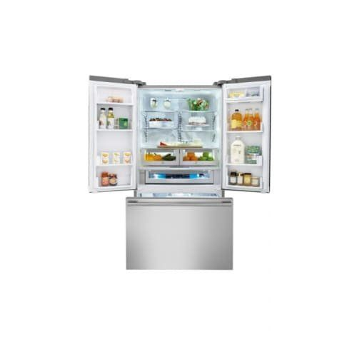 Electrolux Icon E23BC68JPS Professional 226 Cu Ft Stainless Steel  Counter Depth French Door Refrigerator