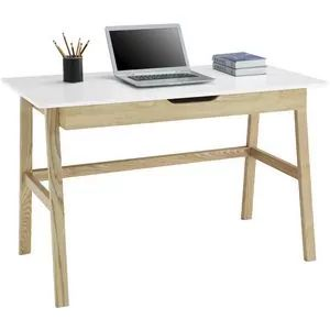 Best Arken Timber 1 Drawer Semi Assembled 1200Mm Desk Desk 640 x 480