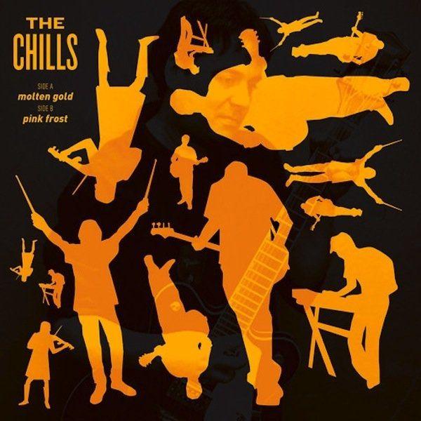 """Molten Gold"" b/w ""Pink Frost (New)"" 7"" single #thechills #dunedin #flyingnun #vinyl #firerecords"