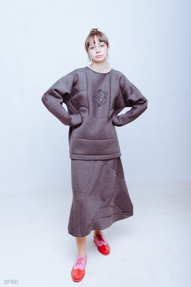 One. World | Sleepy Emotion Set #fashion #zefyras #zefyrasfashion #minimalist #sweater #colours #collection #details #set
