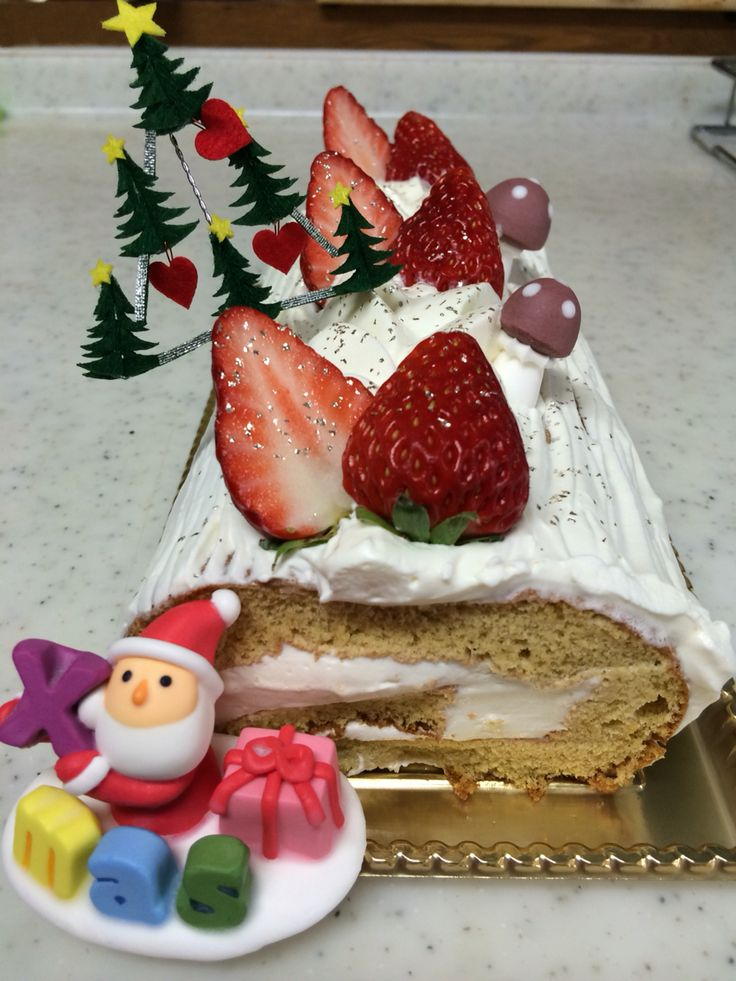 2015クリスマスケーキ教室