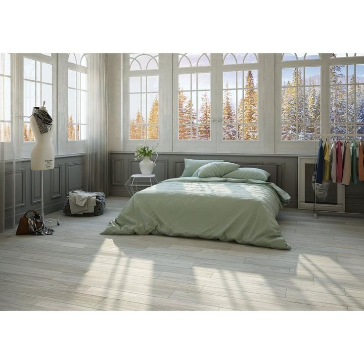 Soft Sugar Wood Plank Porcelain Tile - 8in. x 48in. - 100198720 | Floor and Decor
