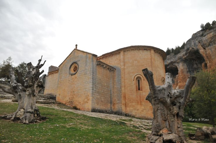 Ermita de San Bartolomé en Cañón de Río Lobos. Soria