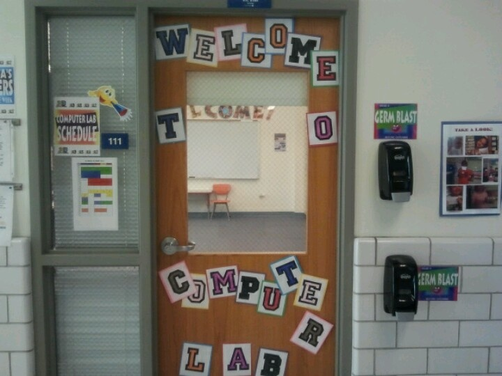 Computer Lab Door Decoration Ideas | Billingsblessingbags.org