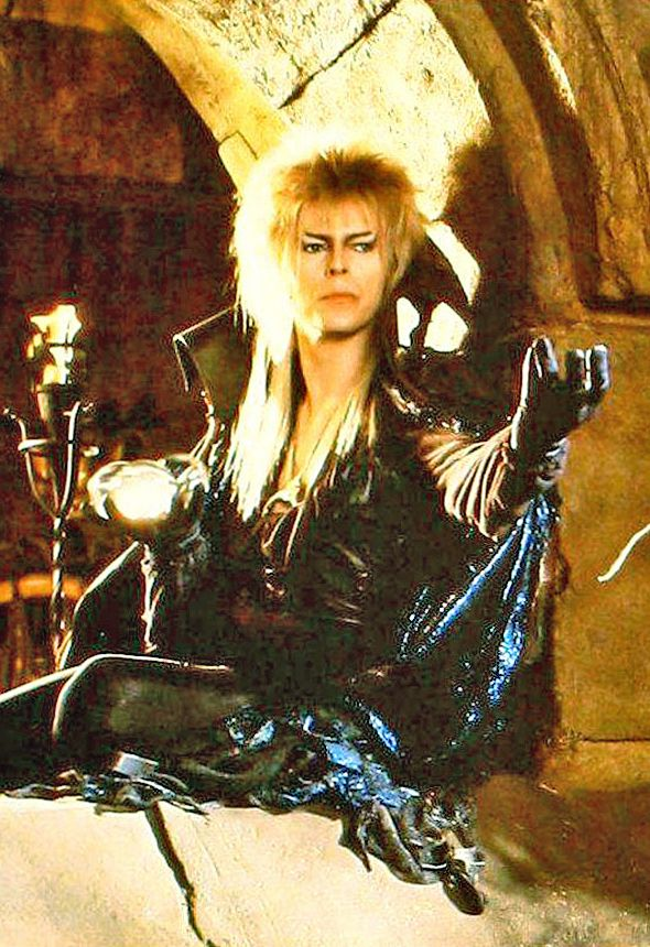 <3 the goblin king. ... ill forget about the baby. <3 lol