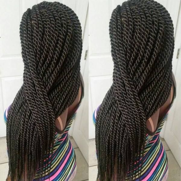 85 best images about Box Braid Styles on Pinterest | How to braid, Jumbo box braids and ...