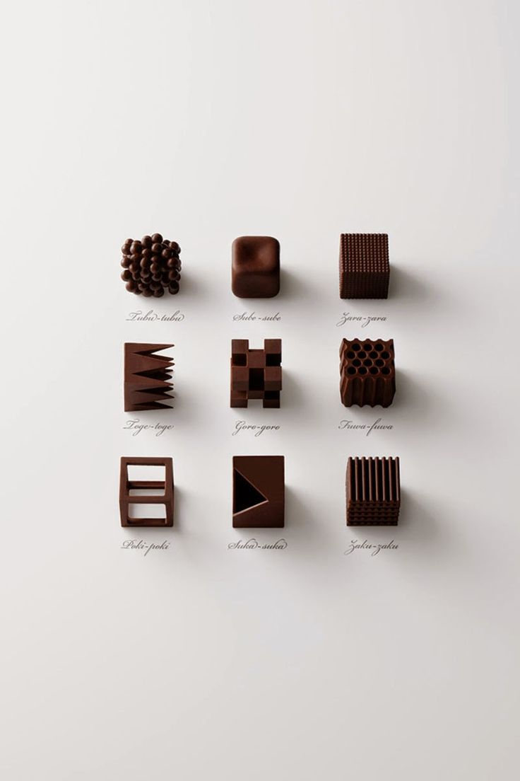 Chocolatexture de Nendo, bombones de diseño para la Maison & Objet 2015 - Nendo designs limited edition chocolate sets for MaisonetObjet 2015 #MaisonetObjet2015, #Paris