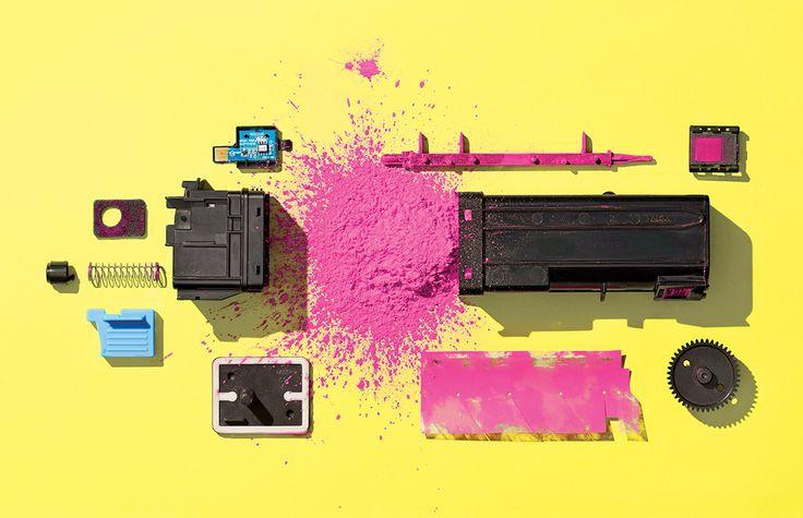 Inside Laser Printer Toner: Wax, Static, LotPrinter Toners of Plastic 3/23/15 WIRED
