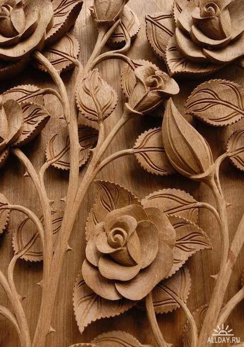 специальной резьба по дереву роза картинки местных мужчин игаля