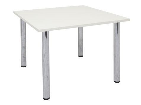 Chrome Leg Square Table