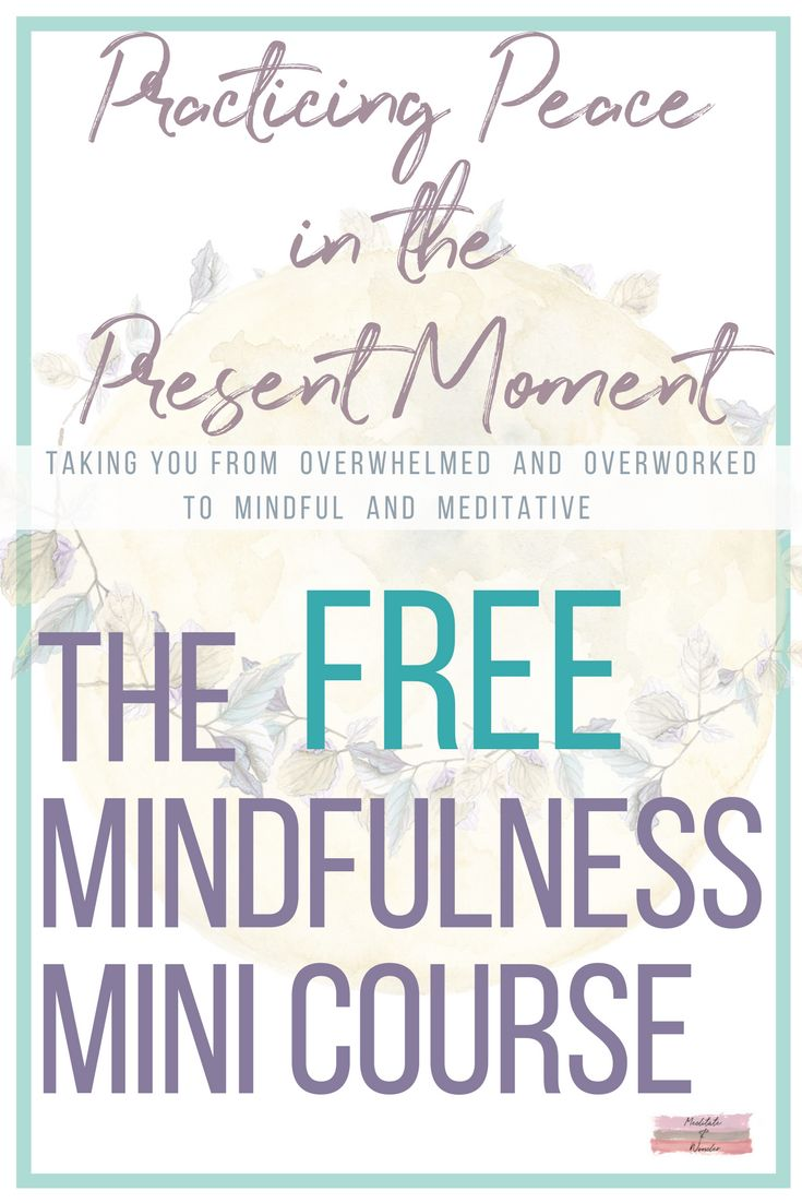 The best free course on mindfulness out there! Learn to practice mindfulness when you're meditating and in the mundane moments of your day. Click the pin to start the video. #mindfulnessclass #mindfulnesscourse #learntopracticemindfulness #mindfulliving #mindfulnessmeditation #tipsformindfulness #meditateandwonder #freecourse #relaxation #guidedmeditation #selflove #selfcare