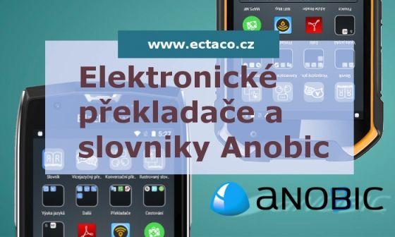 Mluvící kapesní překladač Anobic . www.ectaco.cz