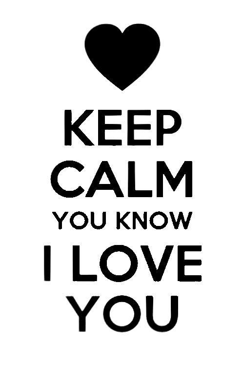 Love you, Babe xo