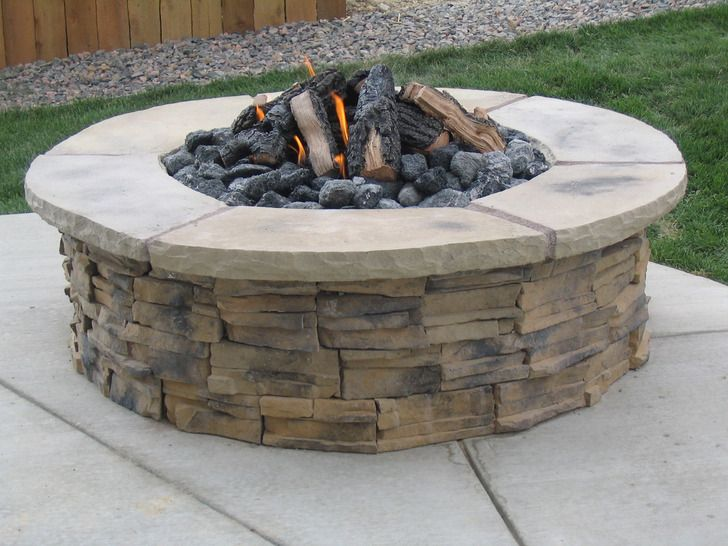 Best 25 Outdoor gas fire pit ideas on Pinterest Patio gas