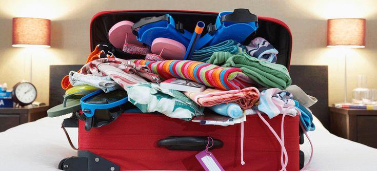 Paso a paso para hacer las maletas ¡fácil!