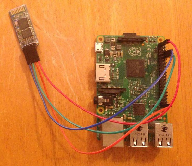 Raspberry Pi Bluetooth Terminal