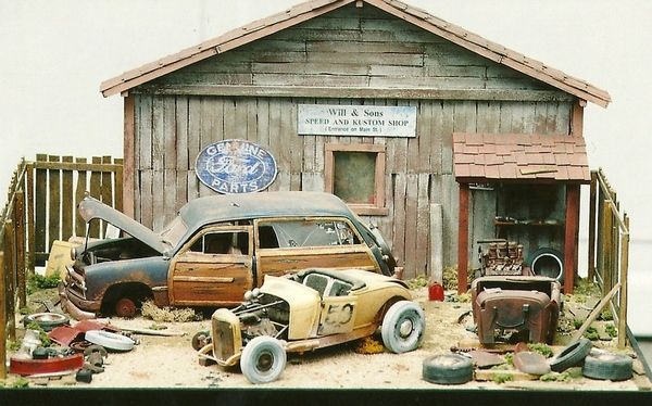 1 24 1 25 Barn Garage Diorama For Sale On Ebay: 17 Best Ideas About Scale Model Cars On Pinterest