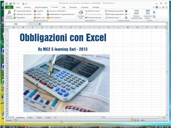 Obbligazioni con Excel  Gestire le obbligazioni con Excel permette di calcolare il rendimento effettivo lordo di qualsiasi obbligazione, dai BOT ai CCT e agli Zero Coupon Bond, a tasso fisso e a tasso variabile.