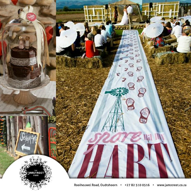 "Looking for the ultimate wedding venue? The ""Karoo"" is uniquely South African, Jamstreet will give you that unique ""Karoo"" farm theme. Contact us for more info: 082 510 0516 Visit our website: http://besociable.link/iz  #Venue #Functions #Weddings"