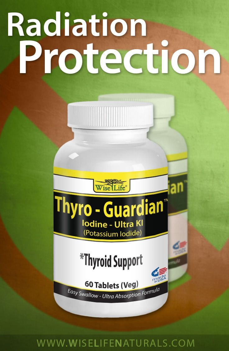 ThyroGuardian Provides Support for the Thyroid plus Anti Radiation Exposure P